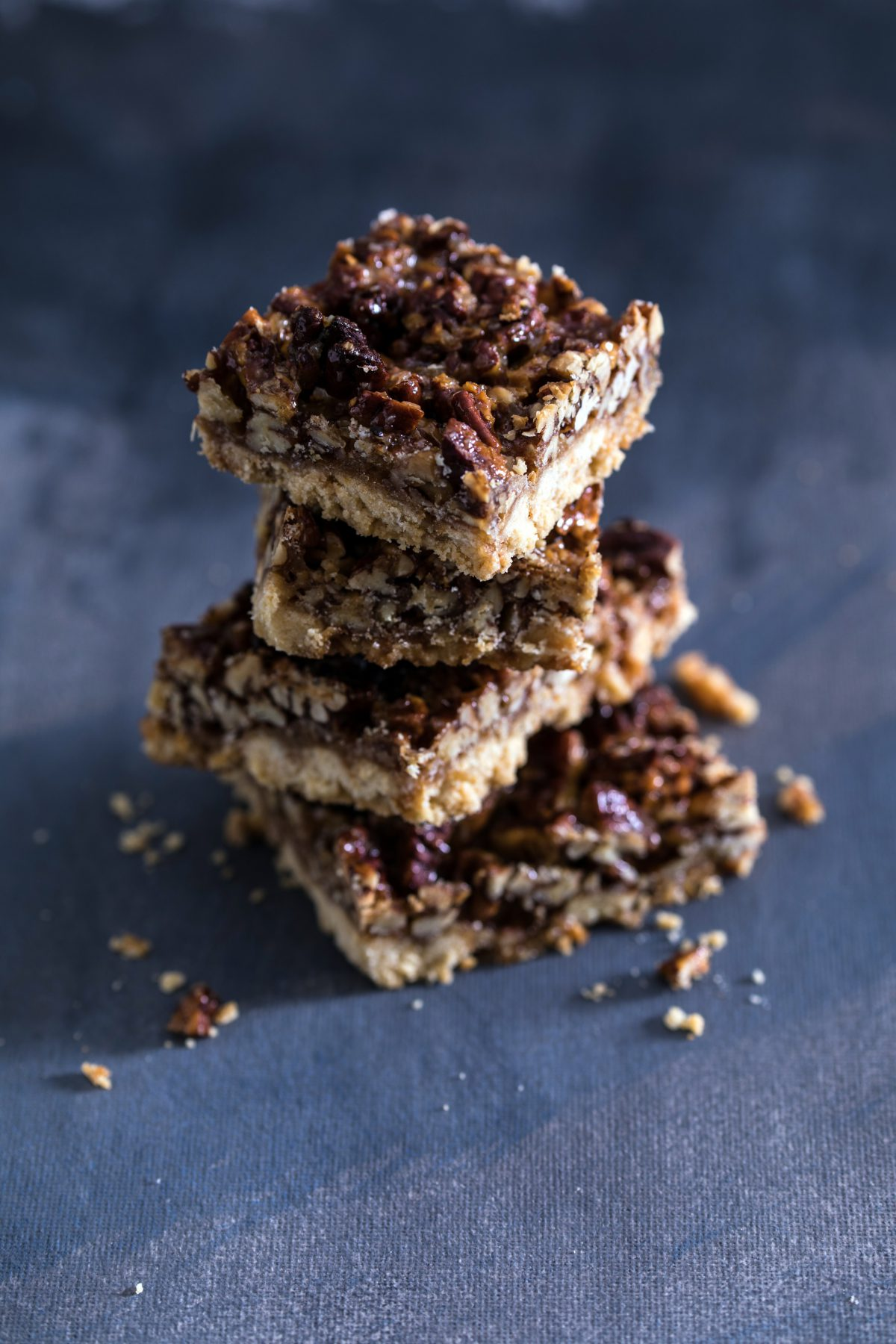 Grandma Pecan Bars with Extra Zing
